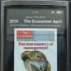 Convert The Economist Audio Edition into an iPod audiobook with chapters